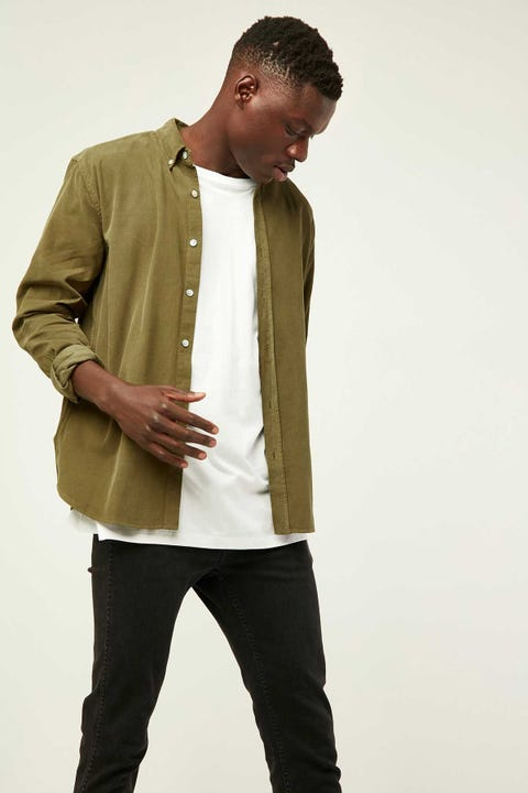 ASSEMBLY Cord Shirt Thyme