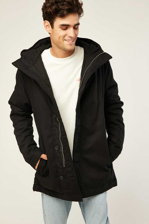 Assembly Padded Frontier Parka Black