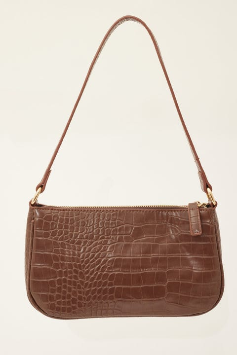 Token 90's Shoulder Bag Brown