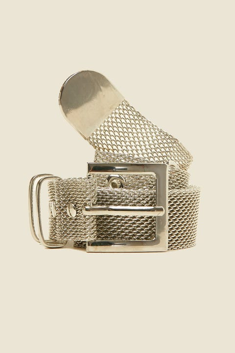 TOKEN Meshi Belt Silver