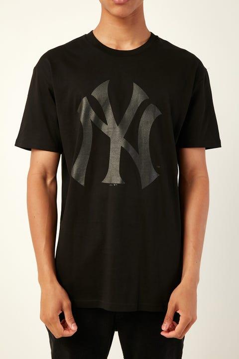 Majestic Athletic NY Prism Tee Black Black
