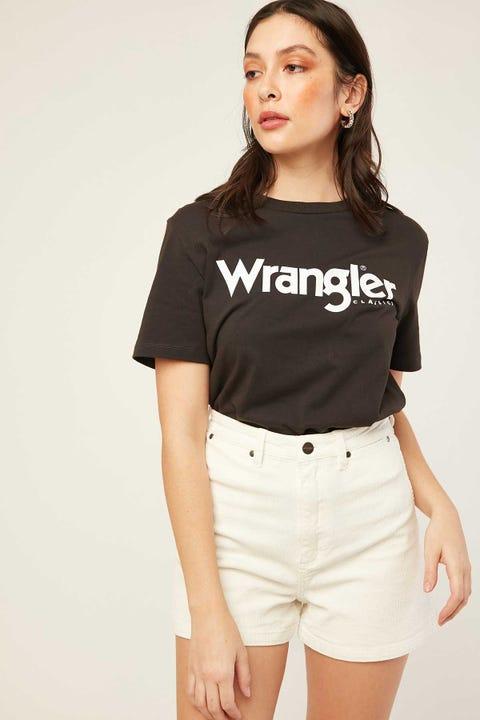 Wrangler Hi Bells Short Cream