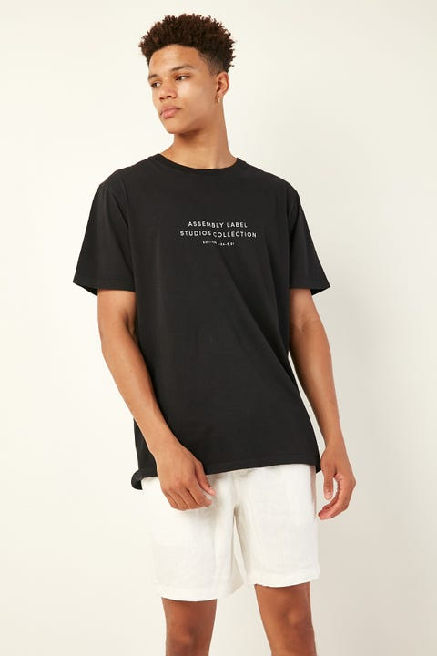 Assembly Edition Tee Black