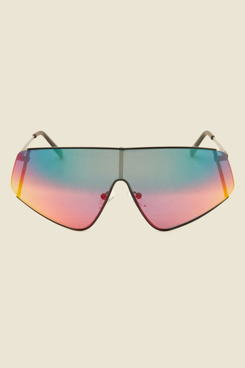 Le Specs Bladestunner Matte Black/Sunset Mirror