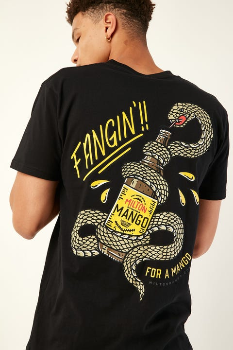 Frothies Fangin For A Mango Tee Black