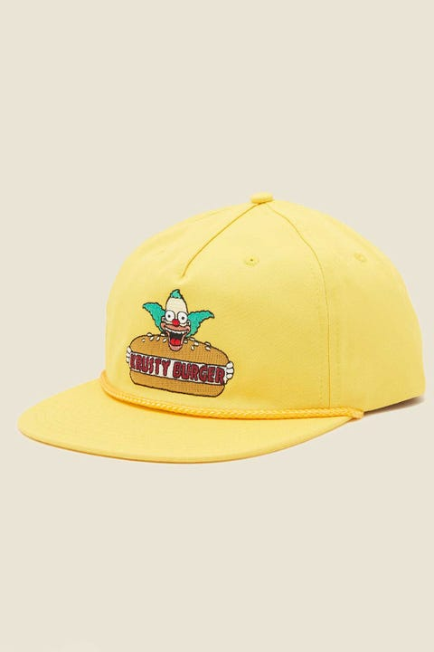 VANS x The Simpsons Shallow Unstructured Cap Krusty