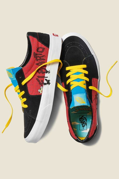 VANS x The Simpsons Sk8-Low El Barto