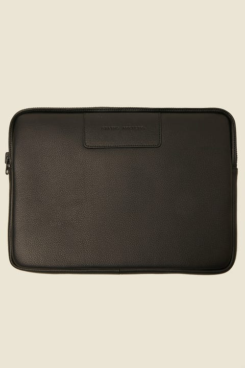 "STATUS ANXIETY Before I Leave 13"" Laptop Sleeve Black"
