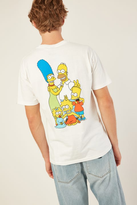 VANS Vans X Simpsons Family SS Tee White