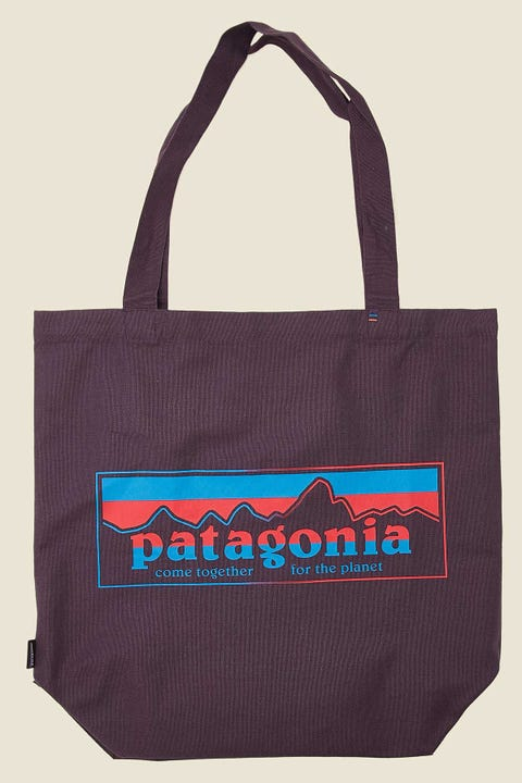 Patagonia Market Tote Together For The Planet Piton Purple