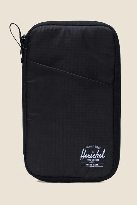 HERSCHEL SUPPLY CO. Travel Wallet Black