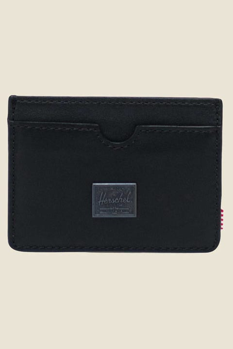 Herschel Supply Co. Charlie Leather Black