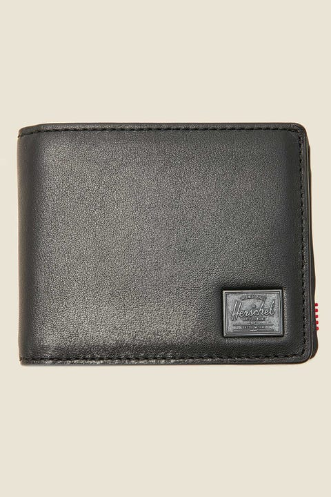 Herschel Supply Co. Hank Coin Leather Black