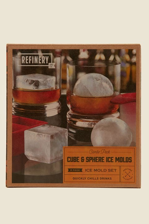 Refinery And Co Ice Mold Cube & Sphere Combo