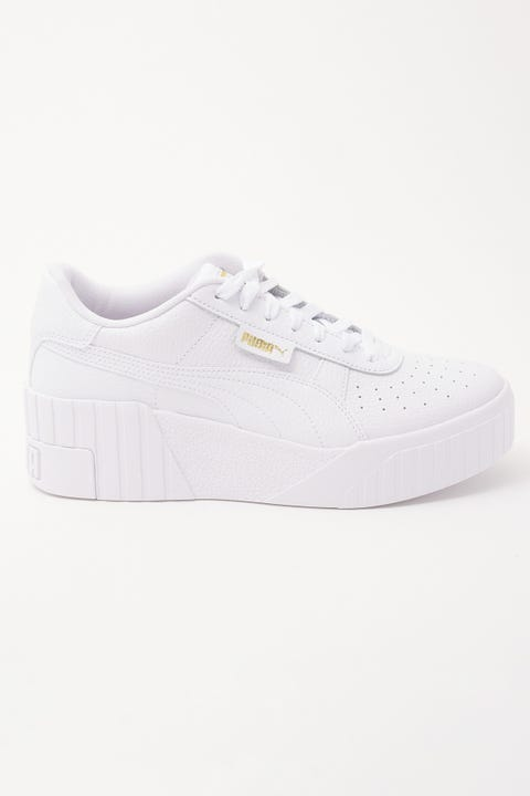 Puma Cali Wedge White/White