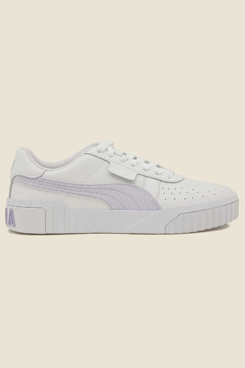 Puma Cali Corduroy White/Purple