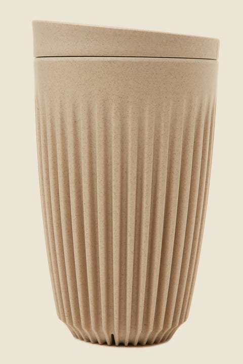 Huskee 12oz Cup & Lid Natural