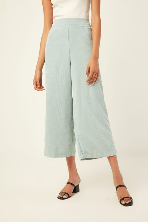 Perfect Stranger Off Duty Cord Pant Blue