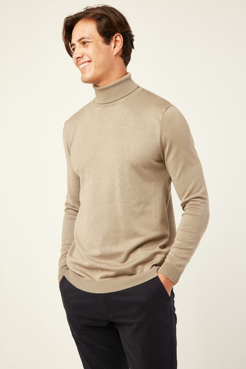 Common Need Theodore Turtleneck Mocha