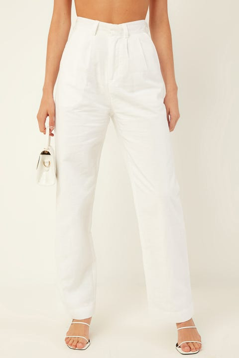 PERFECT STRANGER Only One Pant White