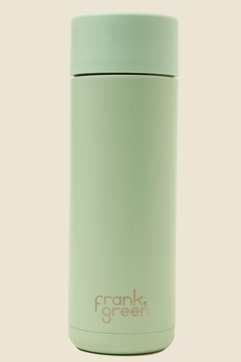 FRANK GREEN Ceramic Reusable Bottle 20oz Mint Gelato