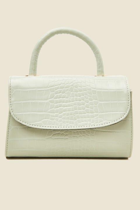 TOKEN Dress Me Up Croc Handbag Sage