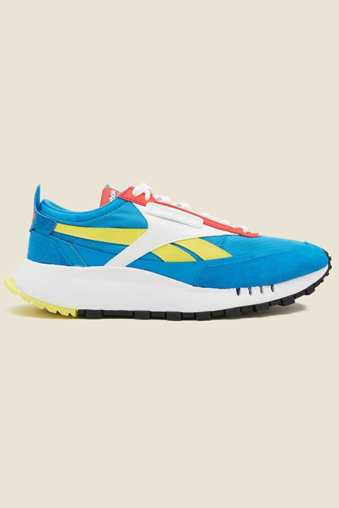 Reebok Mens CL Legacy Blue/Red/Yellow