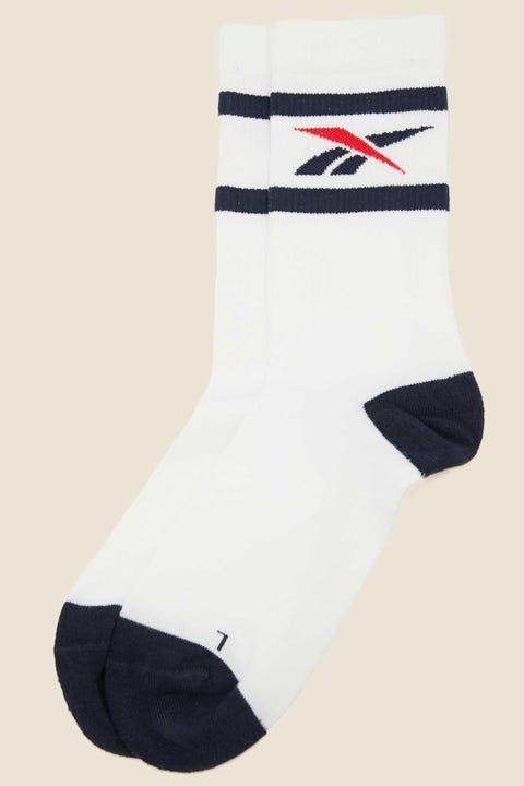 Reebok CL Team Sport Sock White