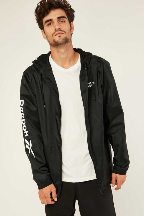 Reebok CL F Vector Windbreaker Black