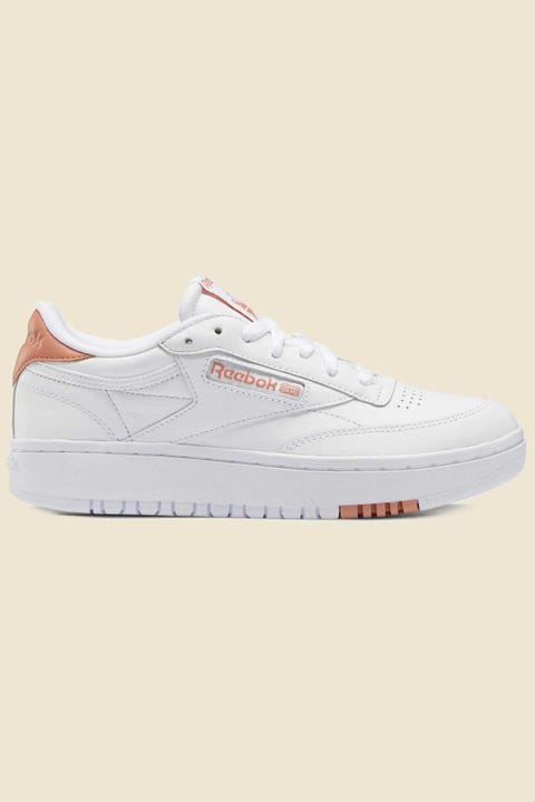 Reebok Womens Club C Double White/White/Pantone