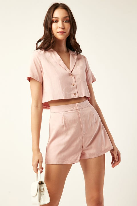 PERFECT STRANGER Vienna Short Pink