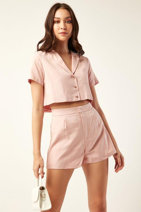 PERFECT STRANGER Vienna Short Pink