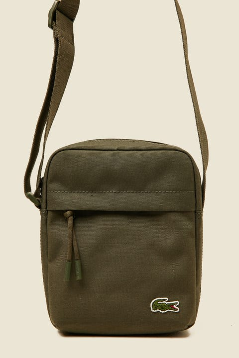 Lacoste Neocroc Vertical Camera Bag Forest Night
