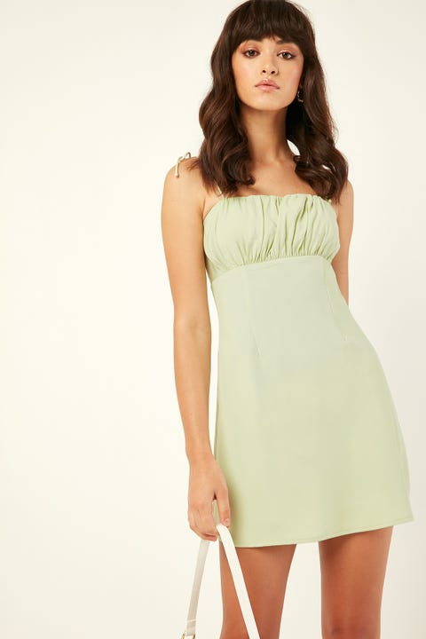 Perfect Stranger Yours Truly Dress Green