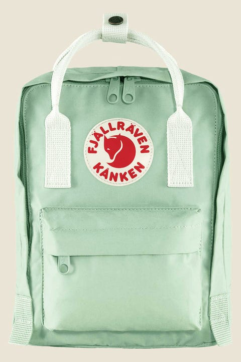 Fjallraven Kanken Mini Mint Green/White