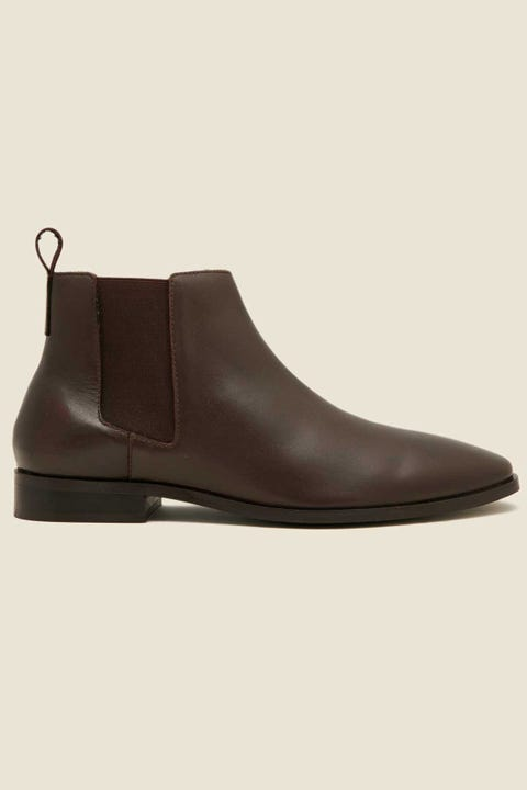Urge Chester Chelsea Boot Dark Choc