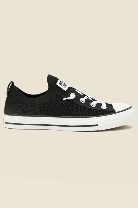 CONVERSE Womens CT All Star Slip Shoreline Knit Black