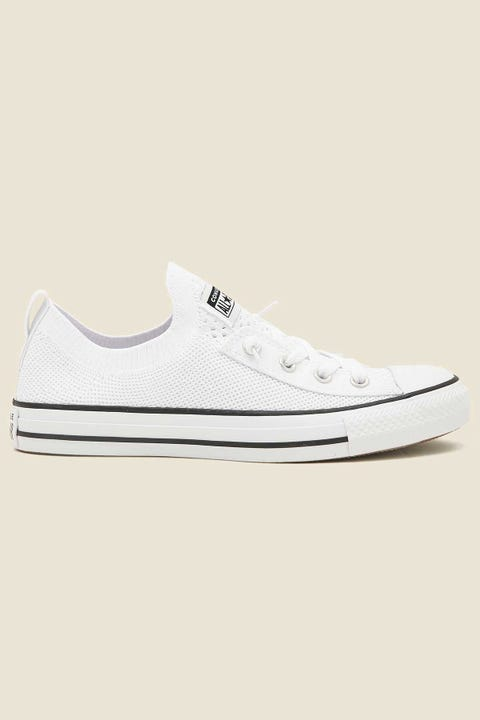CONVERSE Womens CT All Star Slip Shoreline Knit White