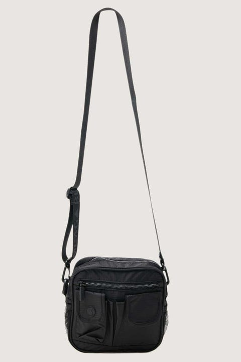Bumbag Co Utility Shoulder Bag Staple Black