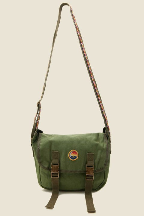 Bumbag Co x Riley Hawk Shoulder Bag Military Green