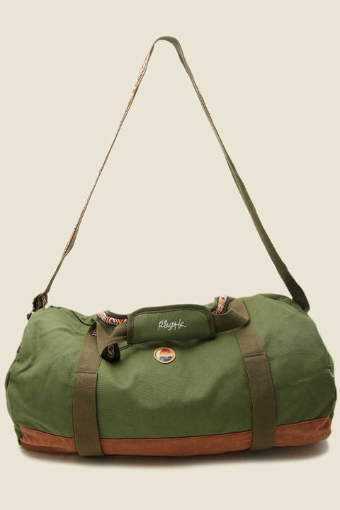 Bumbag Co x Riley Hawk Skate Duffle Bag Military Green