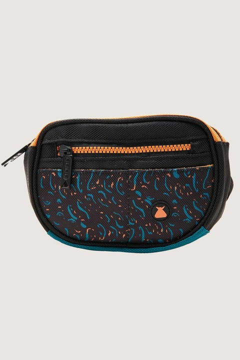 Bumbag Co Mini Mega Hip Pack Finkle Black & Teal