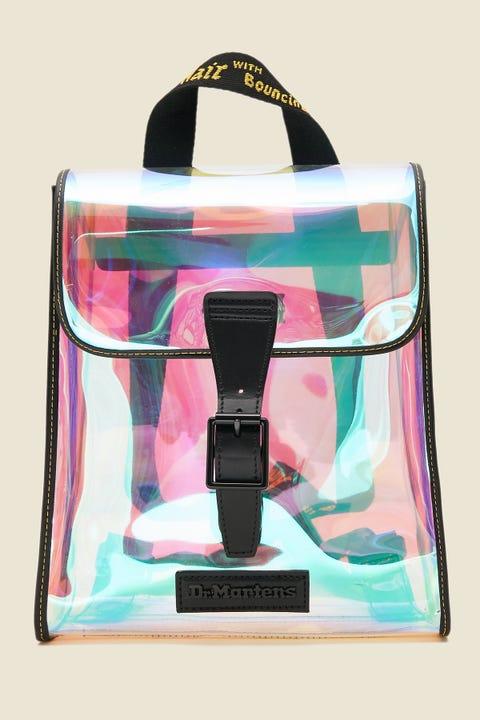 DR MARTENS Mini Backpack Transparent/Black