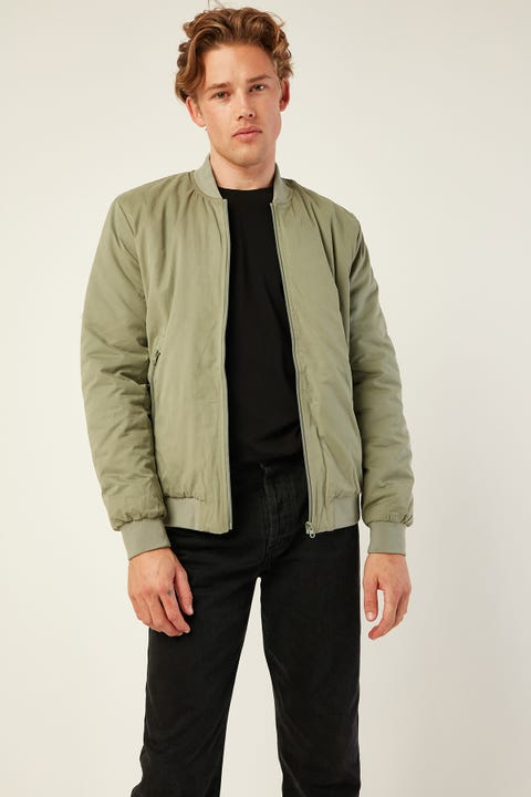 Common Need Maple Slim Bomber Basil