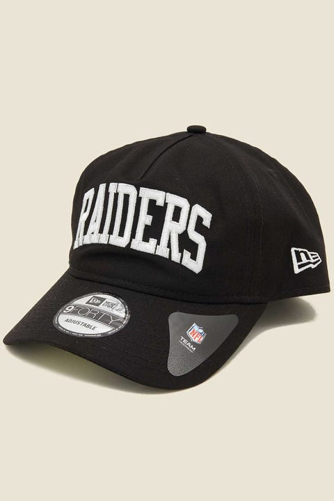 NEW ERA 940 A-Frame Unstructured Oakland Raiders Black/White