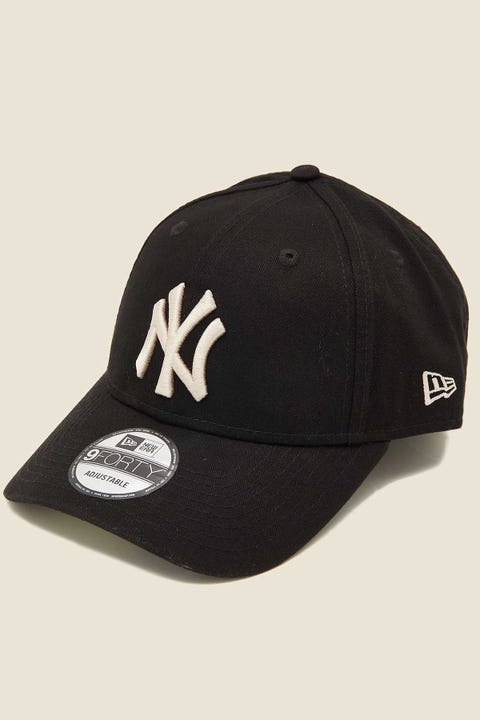 NEW ERA 940 NY Yankees Washed Black/Stone