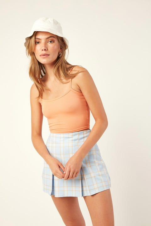 L&T Pretty Crop Top Orange