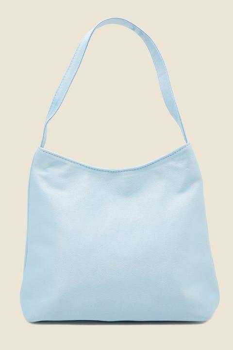 TOKEN Dina Satin Handbag Blue