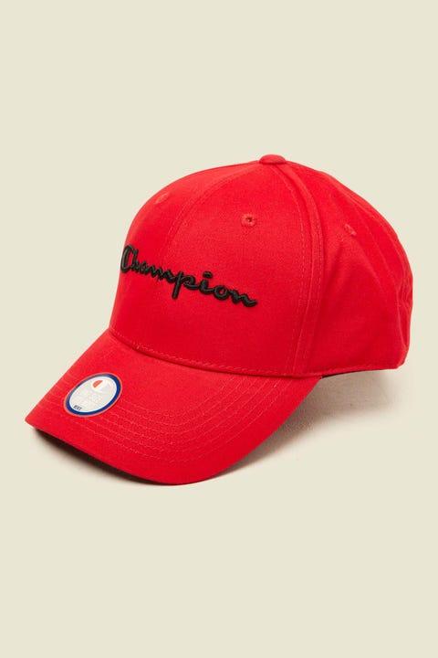 Champion Classic Twill Hat Red/Black