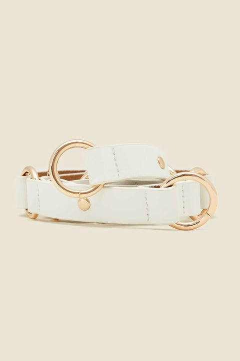 TOKEN Stay Connected Belt White